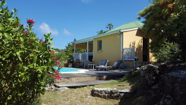 St.Martin, 2 bedroom villa, ocean view, counter current ...