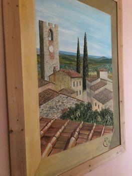 Paint Your Life Letto A Castello.La Casa Nel Castello Tuscany Medieval Village Vineyard And Sea